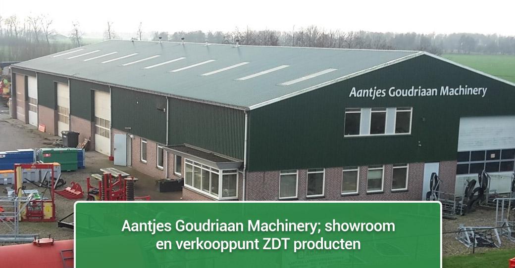Aantjes Goudriaan Machinery - showroom en verkooppunt ZDT producten